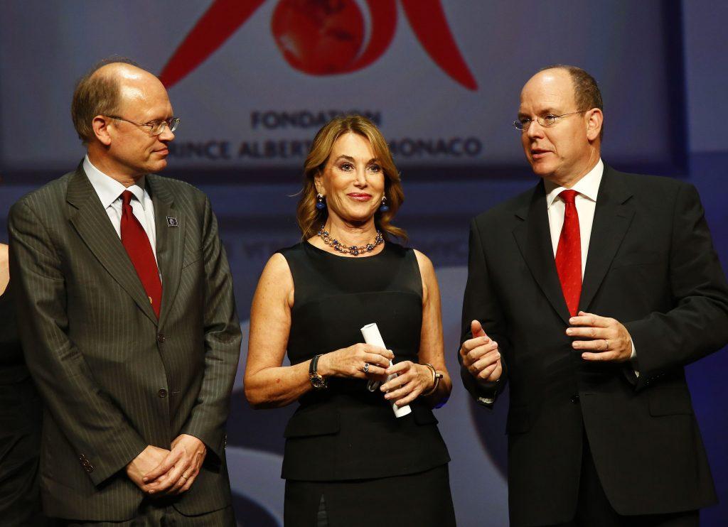 Cérémonie d'attribution des Trophées de la Fondation Prince Albert II de Monaco - 2013